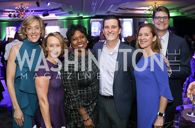 Kristin Ehrgood, Monica Thompson, Vadim Nikitine, Mieka and David Wick. Photo by Tony Powell. 10th Annual Teach for America Gala. Ritz Carlton. February 26, 2020
