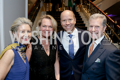 Christie Weiss, April and John Delaney, Jeff Weiss. Photo by Tony Powell. 10th Annual Teach for America Gala. Ritz Carlton. February 26, 2020