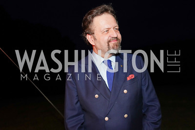 Sebastian Gorka. Photo by Tony Powell. A Homecoming to Mount Vernon. September 26, 2020