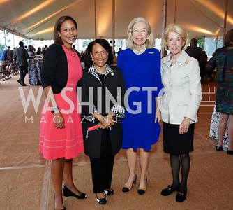 Hilary West, Gail West, Nina Pillsbury, Bobbie Brewster. Photo by Tony Powell. A Homecoming to Mount Vernon. September 26, 2020