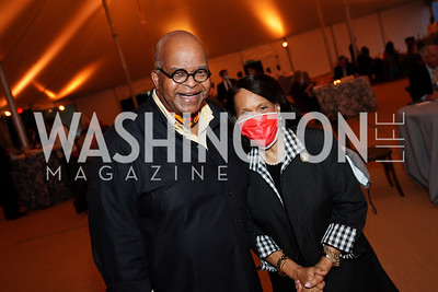 Riley Temple, Gail West. Photo by Tony Powell. A Homecoming to Mount Vernon. September 26, 2020