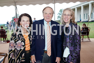 Ellen Boer, Peter and Alexa Kimball. Photo by Tony Powell. A Homecoming to Mount Vernon. September 26, 2020