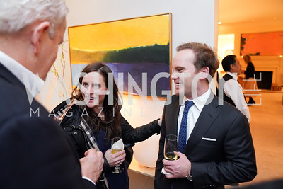 """Abby Grattan, Walt Cronkite. Photo by Tony Powell. Carder Stout """"Lost in Ghost Town"""" Book Party. March 12, 2020"""