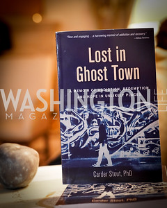 """Photo by Tony Powell. Carder Stout """"Lost in Ghost Town"""" Book Party. March 12, 2020"""
