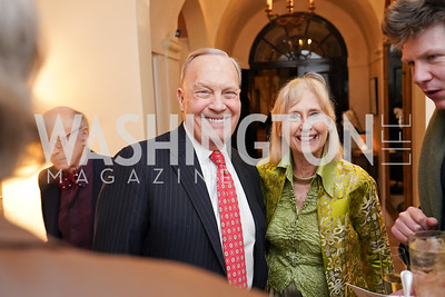 """Bob Heggestad, Willee Lewis. Photo by Tony Powell. Carder Stout """"Lost in Ghost Town"""" Book Party. March 12, 2020"""