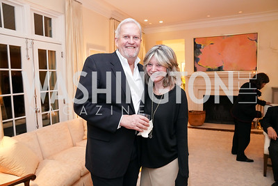 """Kay Kendall and Jack Davies. Photo by Tony Powell. Carder Stout """"Lost in Ghost Town"""" Book Party. March 12, 2020"""