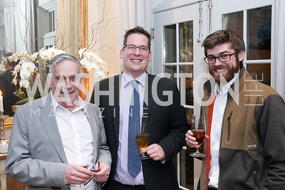 """Ric Marino, Walter Springman, Dylan Carrington. Photo by Tony Powell. Carder Stout """"Lost in Ghost Town"""" Book Party. March 12, 2020"""