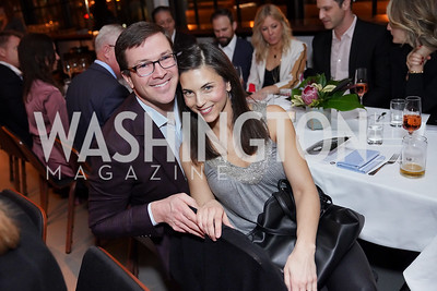 Scott and Nicole Headd. Photo by Tony Powell. DC Central Kitchen Dinner with Ryan Zimmerman. Eaton. January 29, 2020