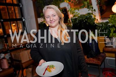 Tiffany MacIsaac. Photo by Tony Powell. DC Central Kitchen Dinner with Ryan Zimmerman. Eaton. January 29, 2020