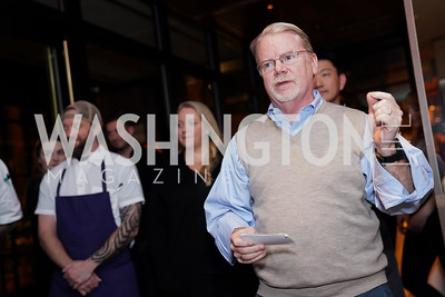 Mike Curtin. Photo by Tony Powell. DC Central Kitchen Dinner with Ryan Zimmerman. Eaton. January 29, 2020