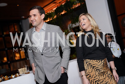 Ryan and Heather Zimmerman. Photo by Tony Powell. DC Central Kitchen Dinner with Ryan Zimmerman. Eaton. January 29, 2020