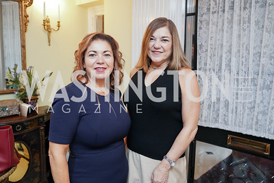 Rep. Linda Sanchez and former Rep. Loretta Sanchez. Photo by Tony Powell. Esther's 90th Birthday Party. January 14, 2020