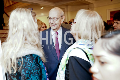 Justice Stephen Breyer. Photo by Tony Powell. Esther's 90th Birthday Party. January 14, 2020