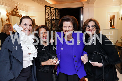 Grace Bender, Gail West, Janet Howard, Anita McBride. Photo by Tony Powell. Esther's 90th Birthday Party. January 14, 2020