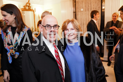 Henry and Janet Waxman. Photo by Tony Powell. Esther's 90th Birthday Party. January 14, 2020