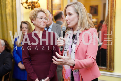 Reps. Chrissy Houlahan and Abigail Spanberger. Photo by Tony Powell. Esther's 90th Birthday Party. January 14, 2020