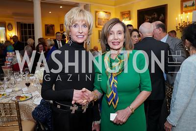 Kathy Kemper, Speaker Nancy Pelosi. Photo by Tony Powell. Esther's 90th Birthday Party. January 14, 2020
