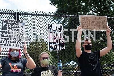 Police Brutality Protest 14. Photo by Yasmin Holman. Washington DC. June 5, 2020.