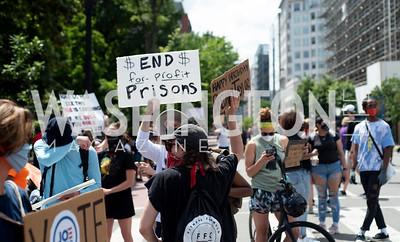 Police Brutality Protest 30. Photo by Yasmin Holman. Washington DC. June 5, 2020.