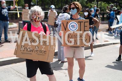 Police Brutality Protest 15. Photo by Yasmin Holman. Washington DC. June 5, 2020.