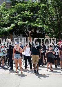 Police Brutality Protest 24. Photo by Yasmin Holman. Washington DC. June 5, 2020.
