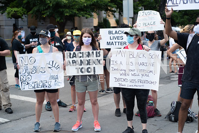 Police Brutality Protest 18. Photo by Yasmin Holman. Washington DC. June 5, 2020.