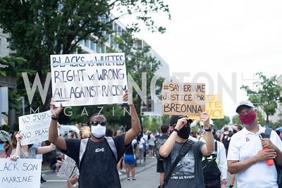 Police Brutality Protest 17. Photo by Yasmin Holman. Washington DC. June 5, 2020.