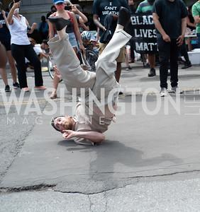 Police Brutality Protest 22. Photo by Yasmin Holman. Washington DC. June 5, 2020.