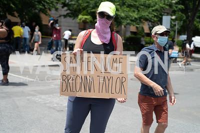 Police Brutality Protest 5. Photo by Yasmin Holman. Washington DC. June 5, 2020.