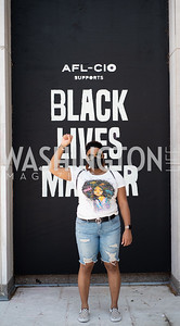 Police Brutality Protest 10. Photo by Yasmin Holman. Washington DC. June 5, 2020.