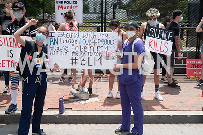 Police Brutality Protest 4. Photo by Yasmin Holman. Washington DC. June 5, 2020.