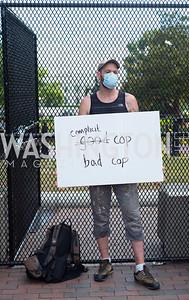 Police Brutality Protest 31. Photo by Yasmin Holman. Washington DC. June 5, 2020.