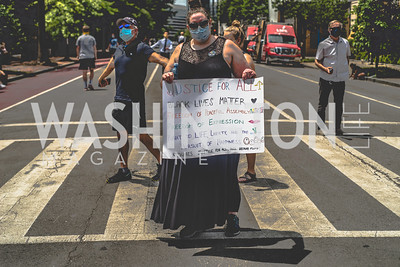 Police Brutality Protest 6. Photo by Yasmin Holman. Washington DC. June 5, 2020.