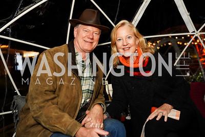 "Geoffrey Pohanka and Anne Kline Pohanka. Photo by Tony Powell. Wolf Trap ""Bourbon in Bubbles."" November 12, 2020"