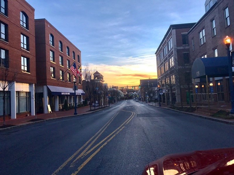March 14 2020 Sunrise Annapolis Md