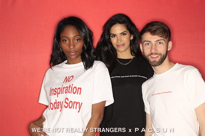 We're Not Really Strangers x PACSUN