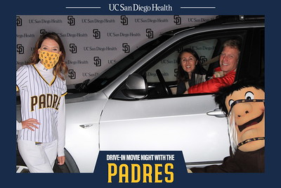 Drive-In Movie Night with the Padres