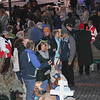 LCC K-9 Comfort Dogs and Hearts of Mercy & Compassion, Crosses for Losses at Milwaukee City Hall community vigil being present for those affected by the Molson Coors-Milwaukee, WI Shooting