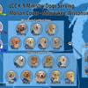 LCC Kare 9 Military Ministry Dog Asher (Faith Lutheran – Lake Forest, Illinois)<br /> LCC K-9 Comfort Dog Barnabas & Isaiah (Trinity – Hobart, Indiana)<br /> LCC Kare 9 Military Ministry Dog Blitz (LCC Squad)<br /> LCC Kare 9 Military Ministry Dog Brandy (LCC Squad)<br /> LCC K-9 Comfort Dog Charity (Brookfield Lutheran – Brookfield, Wisconsin)<br /> LCC K-9 Comfort Dog Dora (LHSA of Greater Milwaukee)<br /> LCC K-9 Comfort Dog Emma & Ruthie (LCC Staff)<br /> LCC K-9 Police Ministry Dog Eve (St. John's – Lombard, Illinois)<br /> LCC K-9 Comfort Dog Lila (Beautiful Savior – Mequon, Wisconsin)<br /> LCC K-9 Comfort Dog Mary (St. Paul's – Janesville, Wisconsin)<br /> LCC K-9 Comfort Dog Myra (St. Andrews – Park Ridge, Illinois)<br /> LCC K-9 Comfort Dog Rhoda (Prince of Peace – Menomonee Falls, Wisconsin)<br /> LCC K-9 Comfort Dog Sage & Zoey (Concordia University Wisconsin – Mequon, Wisconsin)<br /> LCC K-9 Comfort Dog Tobias (Lord of Glory – Grayslake, Illinois)<br /> LCC K-9 Comfort Dog-in-Training Rahab<br /> Faith Lutheran – Appleton, Wisconsin (In Process)