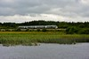 22026 passes Drumsna Viaduct with the 1105 Sligo - Connolly. Wed 19.08.20