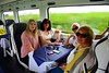 A family group from Wicklow enjoying the Emerld Isle Pullman between Limerick Jct. and Limerick. Wed 12.08.20