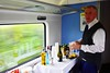 The wheelchair area of 22303 has been converted into a mobile catering point. Corporate Catering are providing refreshments onboard. Wed 12.08.20