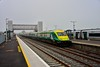 4004 arrives into Limerick Jct. with the 0925 Cork - Heuston. Wed 12.08.20
