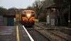073 arrives at Birdhill with the 0825 Limerick - Ballybrophy Sperry Train. Fri 21.02.20