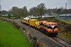 073 passes Ballygibbon between Nenagh and Cloughjordan with the 0825 Limerick - Ballybrophy Sperry Train. Fri 21.02.20