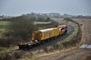 073 has just passed Nenagh and is at Lisboney with the 0825 Limerick - Ballybrophy Sperry Train. Fri 21.02.20