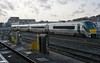 22018 stabled at Heuston on standby duty. Mon 10.02.20