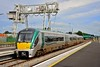 22026 arrives into Limerick with a lightly loaded 1530 Heuston - Limerick service. Thurs 30.07.20