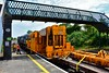 081 propels the relay train out of the sidings at Nenagh and into the station. Tues 02.06.20