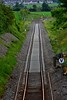 Later that evening at Rathnaleen we see about 1/4 mile of track after being relaid. Tues 02.06.20